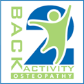 Back 2 Activity Osteopathy Logo